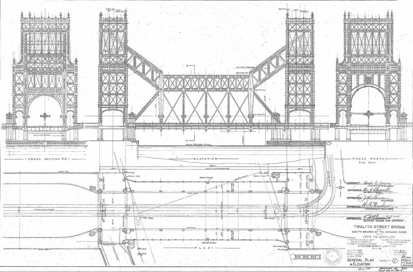 architectural drawings of bridges. Beautiful Bridges The Bridge Shown Above Might Be Celebrating Its 95th Anniversary At  Roosevelt Road Formerly 12th Street Were It Not For World War I Impressive And  And Architectural Drawings Of Bridges 3